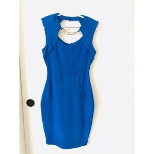 Bisou Bisou Blue Dress